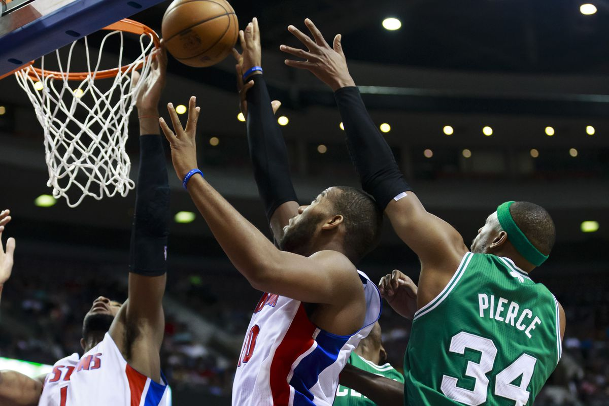 For the Pistons to be successful, they will need a lot of Drummond and Monroe around the rim.