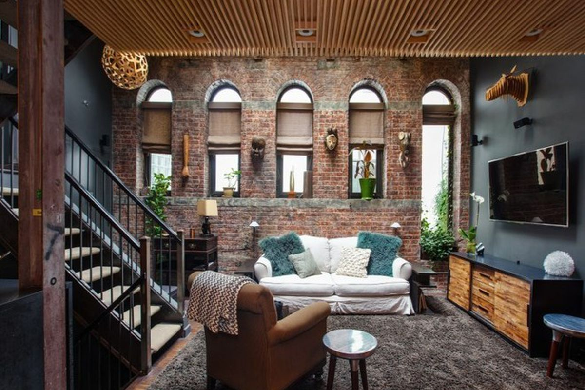 soho living lighting. This Eclectic Soho Apartment\u0027s Floorplan Is One For The Books. Split Between Three Levels, 1,292-square-foot Co-op Twists And Contorts Uses Some Living Lighting L