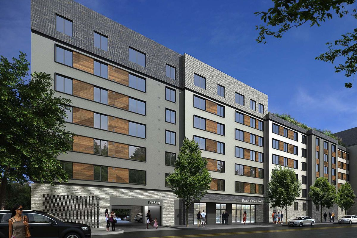 In Far Rockaway, affordable apartments in passive house complex up