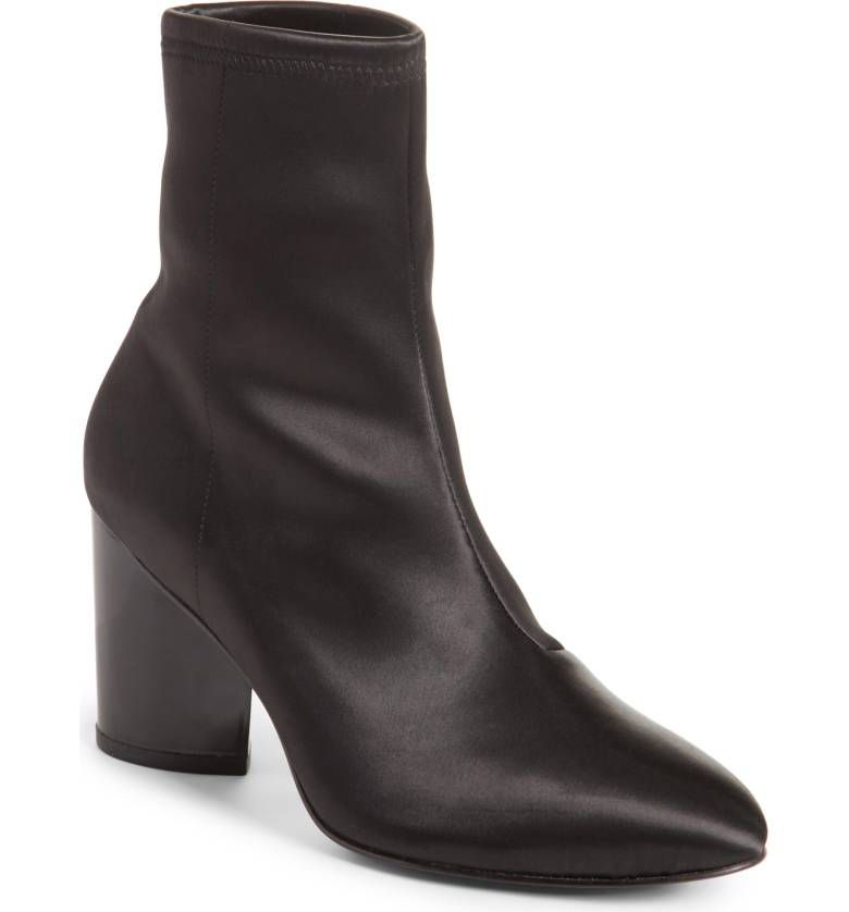 Opening Ceremony Dylan Stretch Ankle Boots in black
