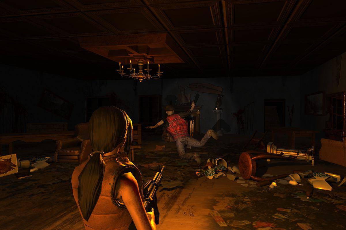 A screenshot of Biohazard Village