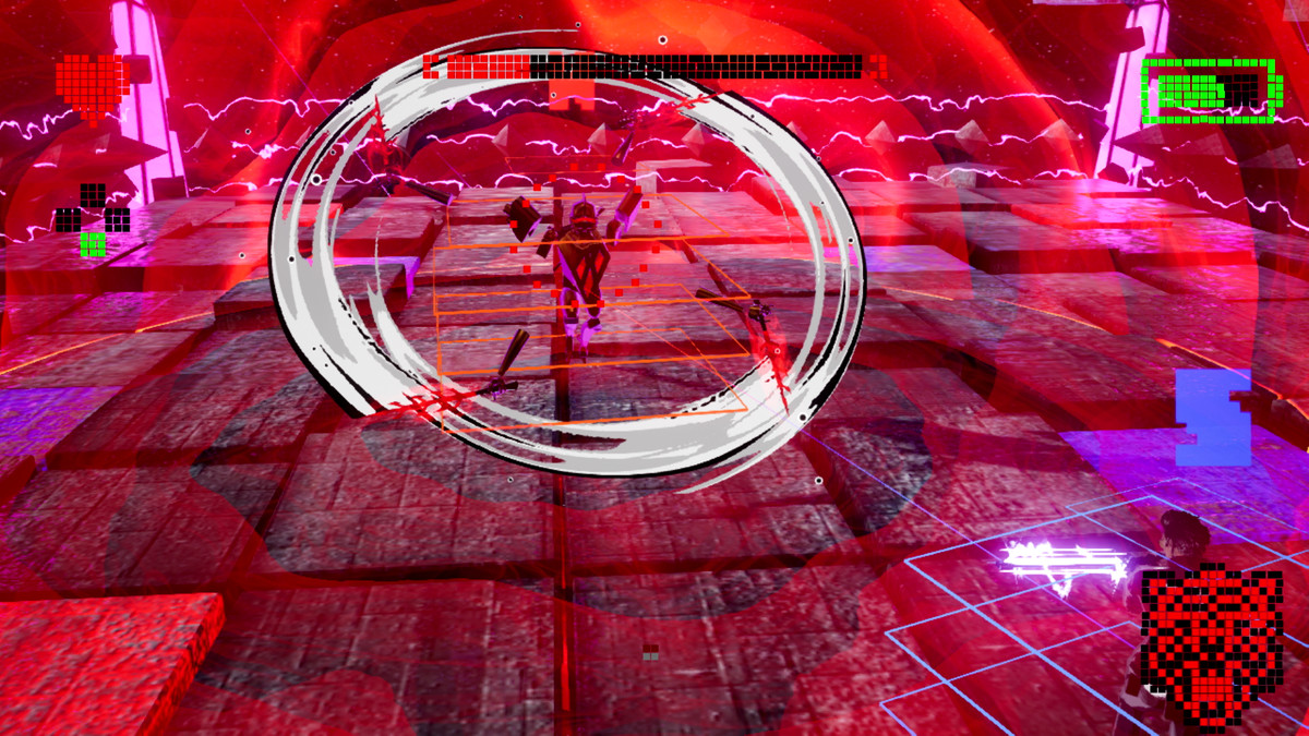 The Gold Joe boss fight in No More Heroes 3