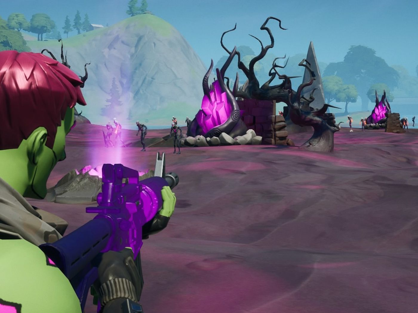 Fortnite S New Island Has Already Changed Just In Time For Halloween The Verge