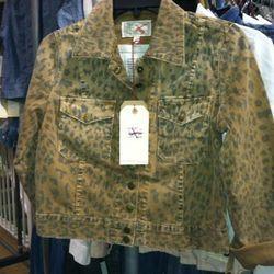 Current/Elliott Denim Jacket, $45