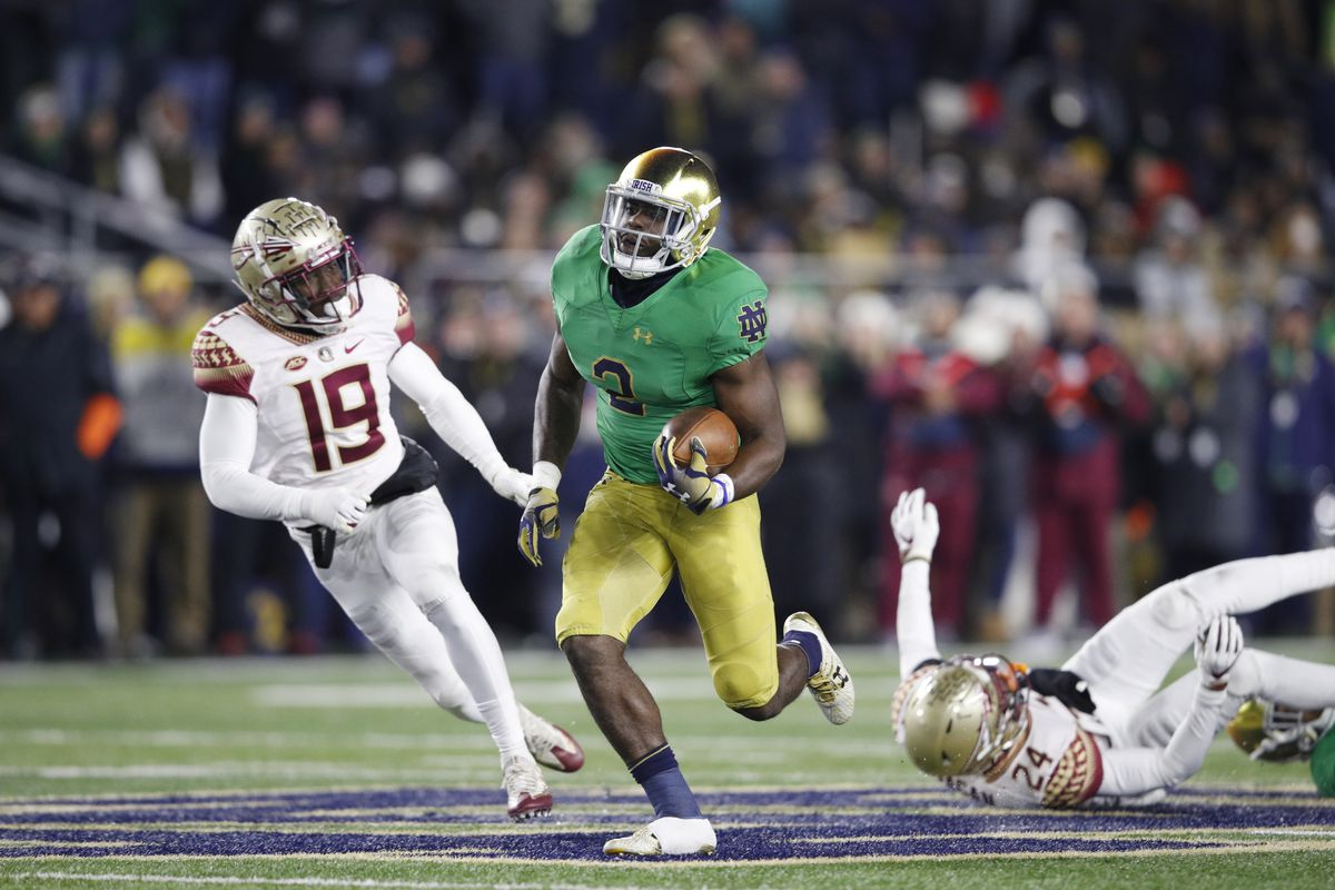 Acc News Notre Dame Football Vs Florida State In Praise Of Villainy One Foot Down