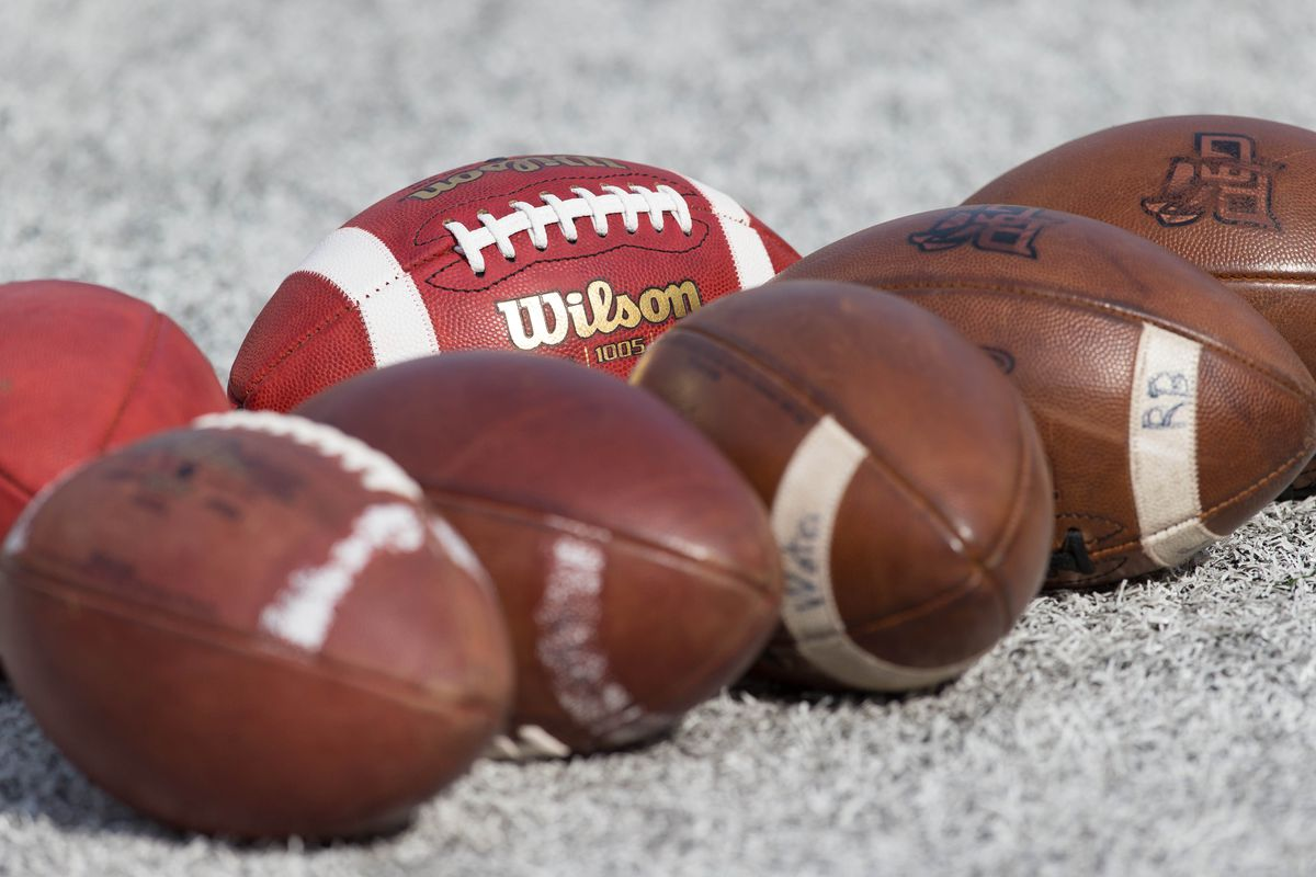 There are many footballs this month.
