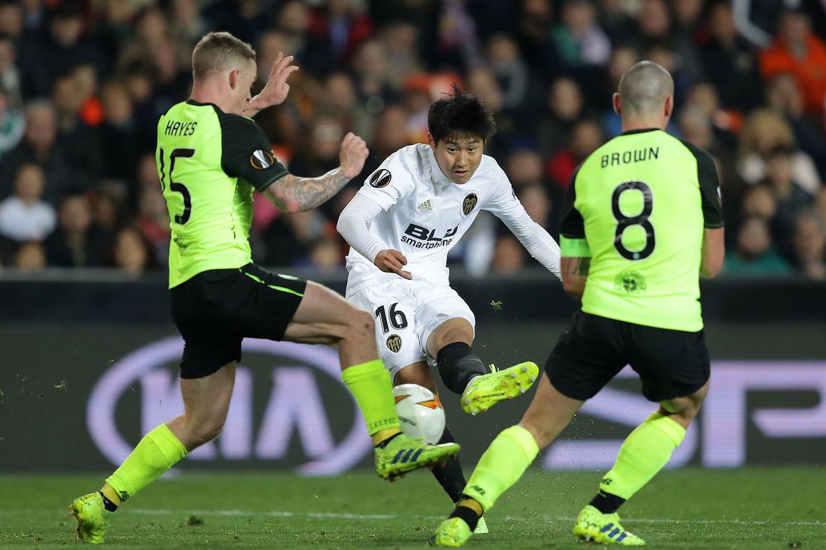 Valencia v Celtic - UEFA Europa League Round of 32: Second Leg