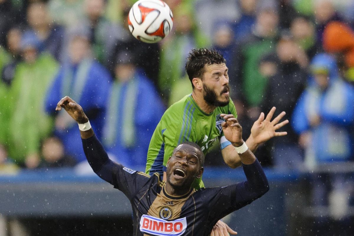 The leading scorer for the Union.  The one in green I mean.