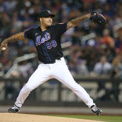 Taijuan Walker, Mets starting pitcher on Wednesday
