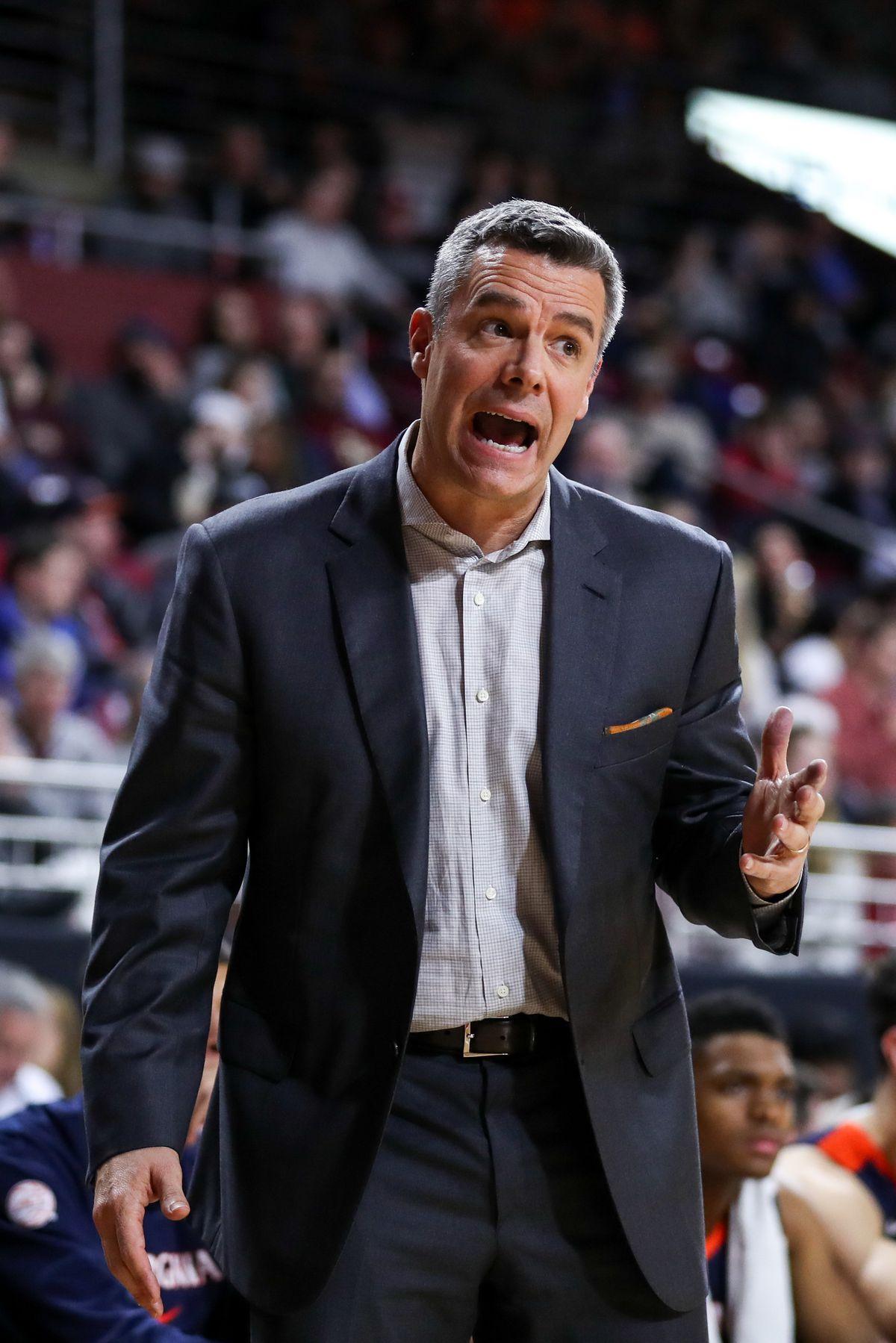 NCAA Basketball: Virginia at Boston College