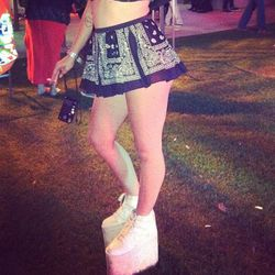 Meet Brooke Candy's mega platform sneakers