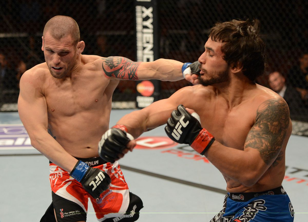 UFC 157: Burrell v Villefort