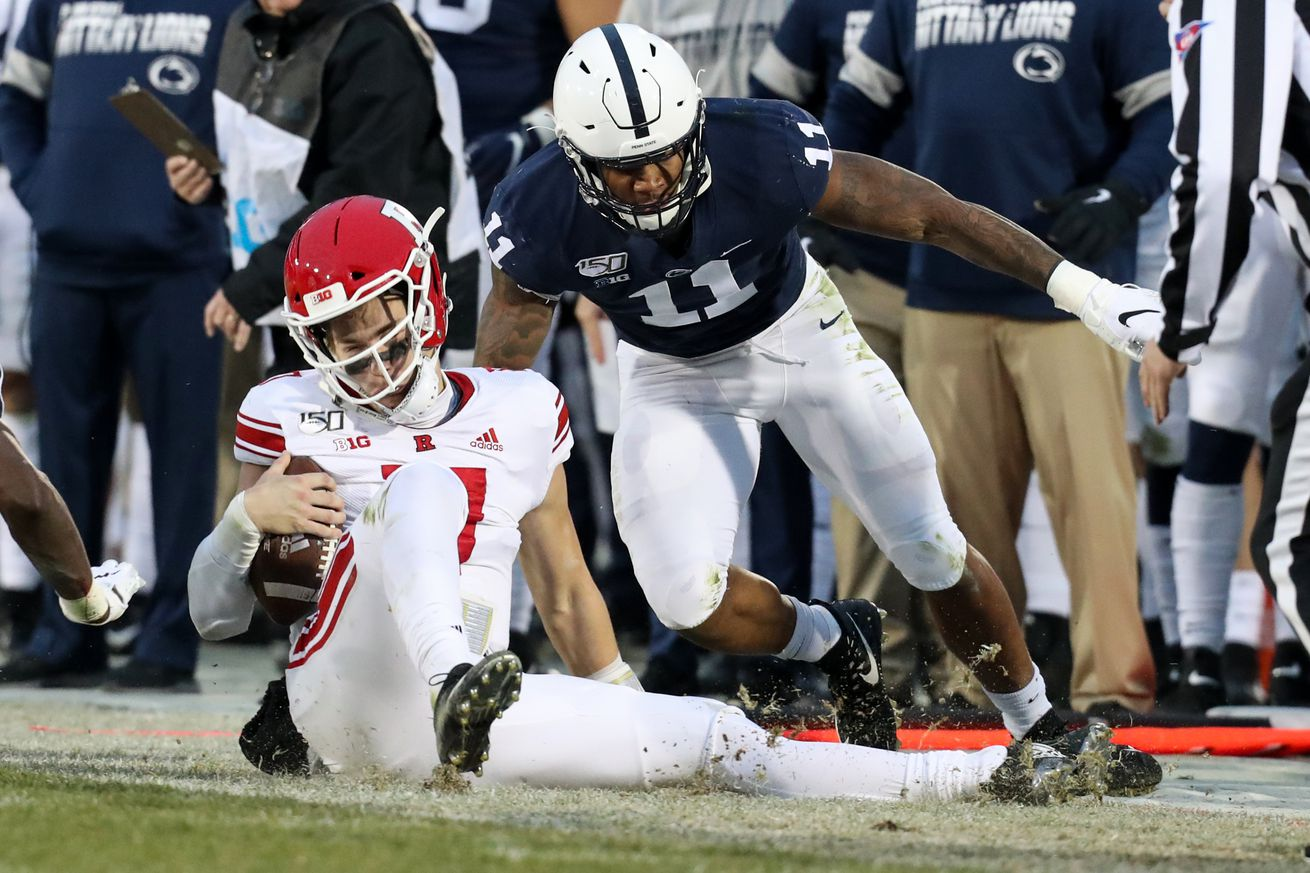 NCAA Football: Rutgers at Penn State