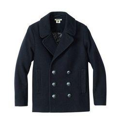 Wool-blend Seaman's Jacket, $79.95