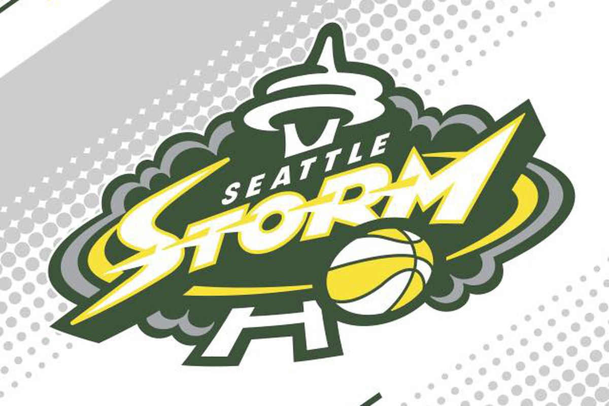 Seattle Storm change the colors of their logo.