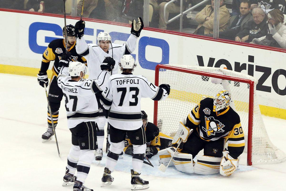 NHL: Los Angeles Kings at Pittsburgh Penguins