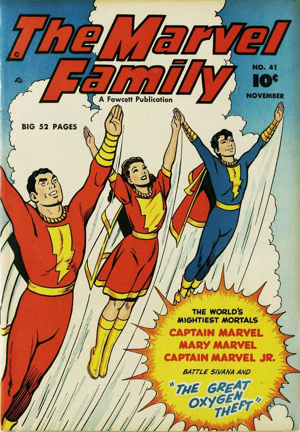 captain marvel and the marvel family