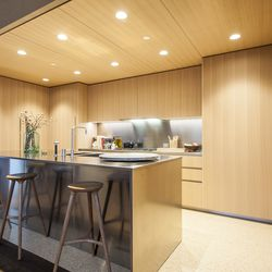 All the kitchens come with Gaggenau appliances throughout.
