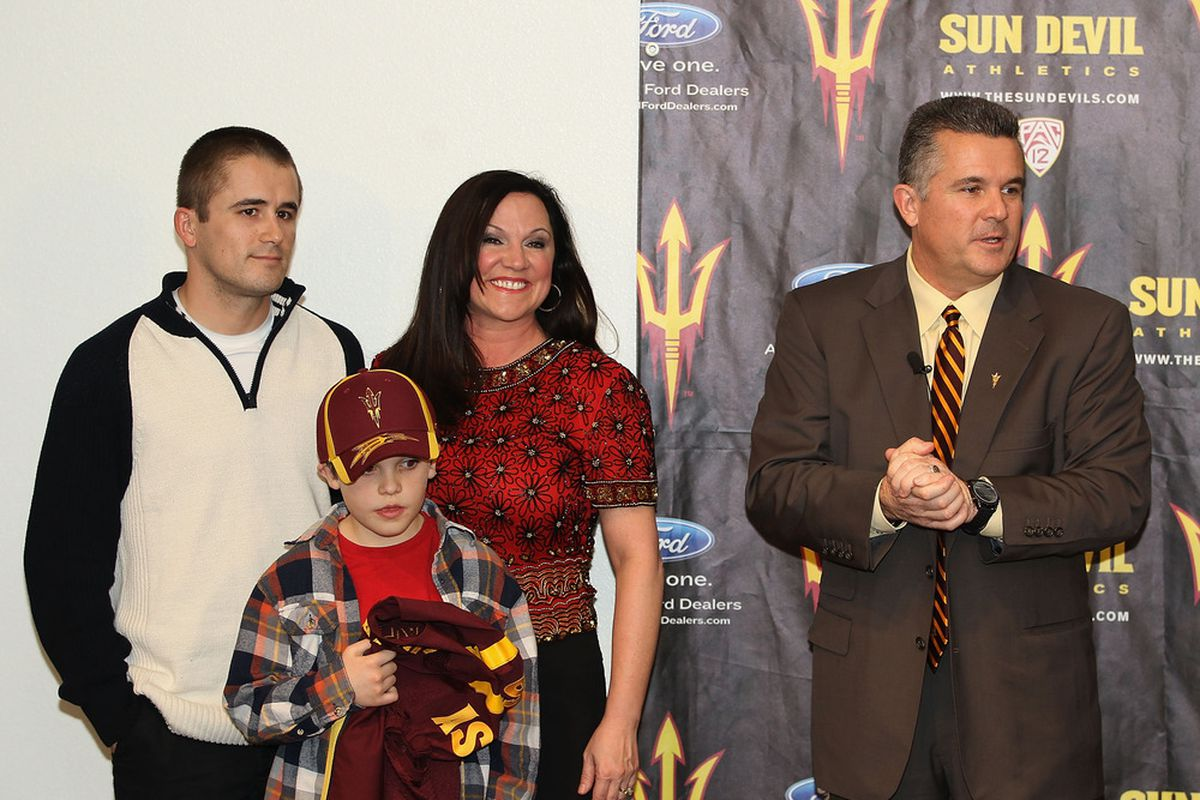 Todd Graham is still getting ripped across the nation ... good (Photo by Christian Petersen/Getty Images)