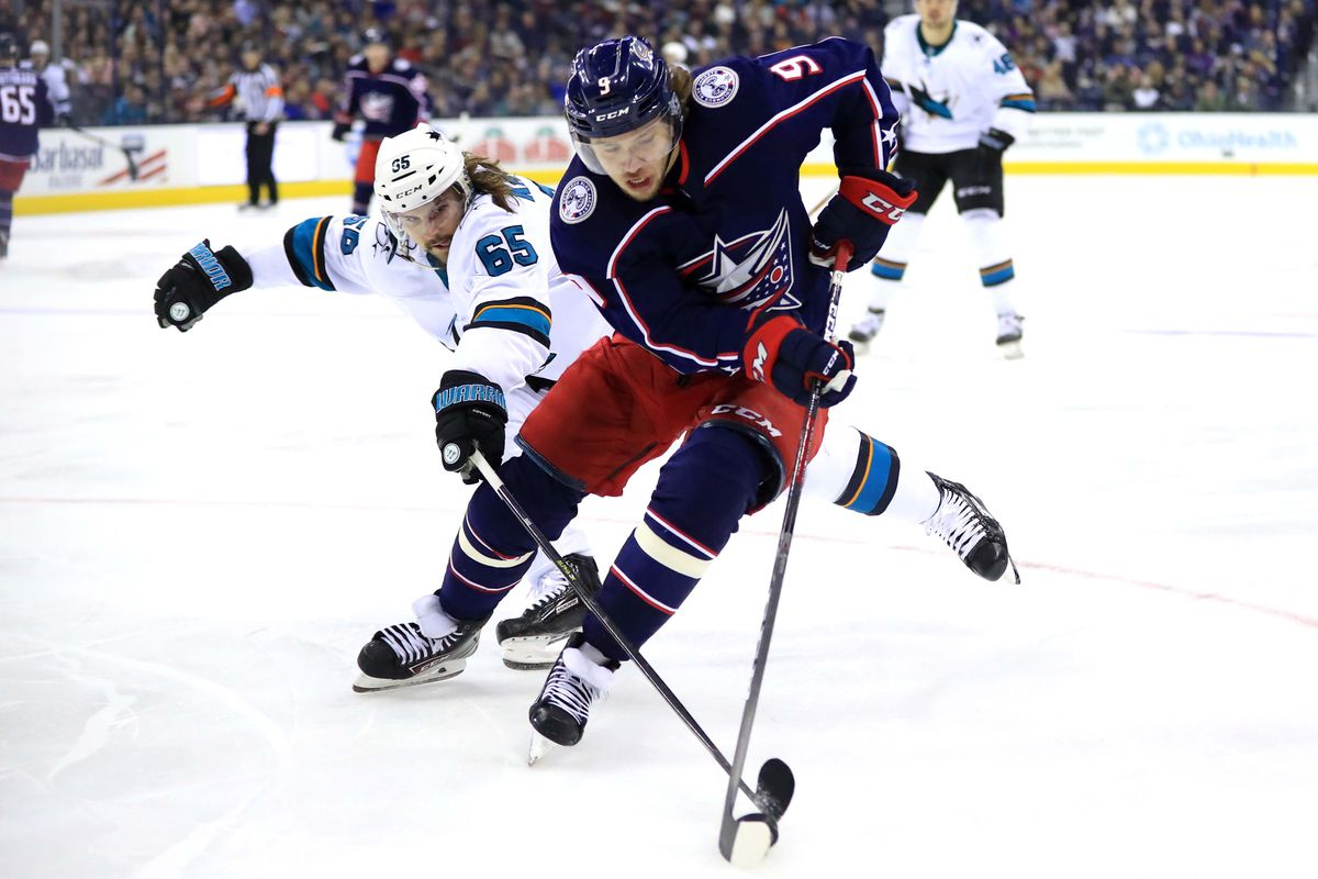 NHL: San Jose Sharks at Columbus Blue Jackets