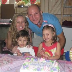 Laura Deutsch and her husband, Brian, with their children, Ava and Jacob. She's a busy mom who also co-founded a parenting resource blog with her friend, Heather Ouida. They also teach or bring in experts to teach online parenting classes.