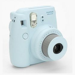 """<strong>Fujifilm</strong> Instax Mini 8 Instant Camera, <a href=""""http://www.urbanoutfitters.com/urban/catalog/productdetail.jsp?id=27913557&parentid=SEARCH+RESULTS"""">$100</a> at Urban Outfitters, is a gift that keeps on giving. Give one and keep one—and th"""