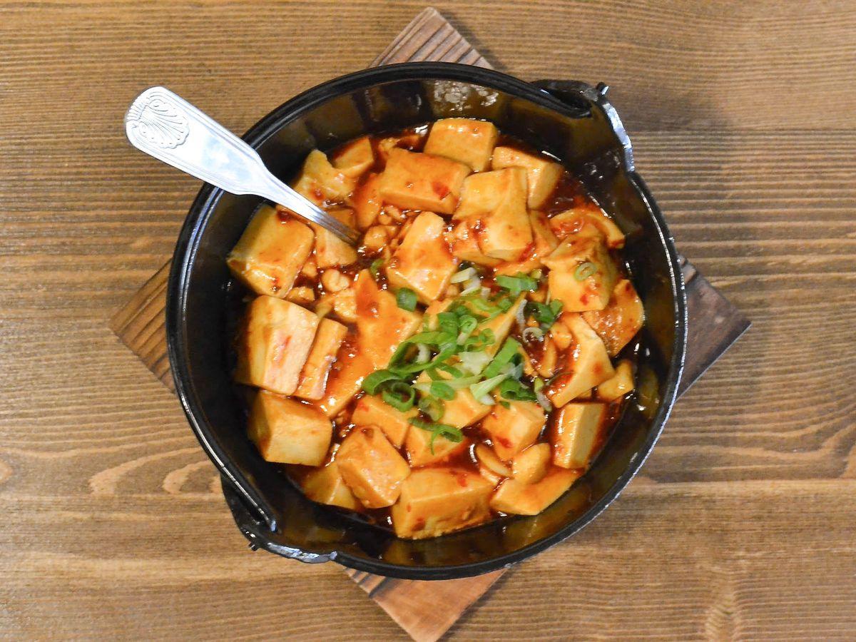 Mapo Tofu at Northern Cafe