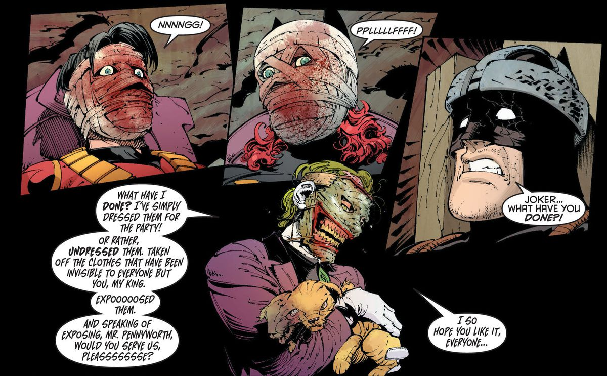 From Batman: Death of the Family, DC Comics (2012).