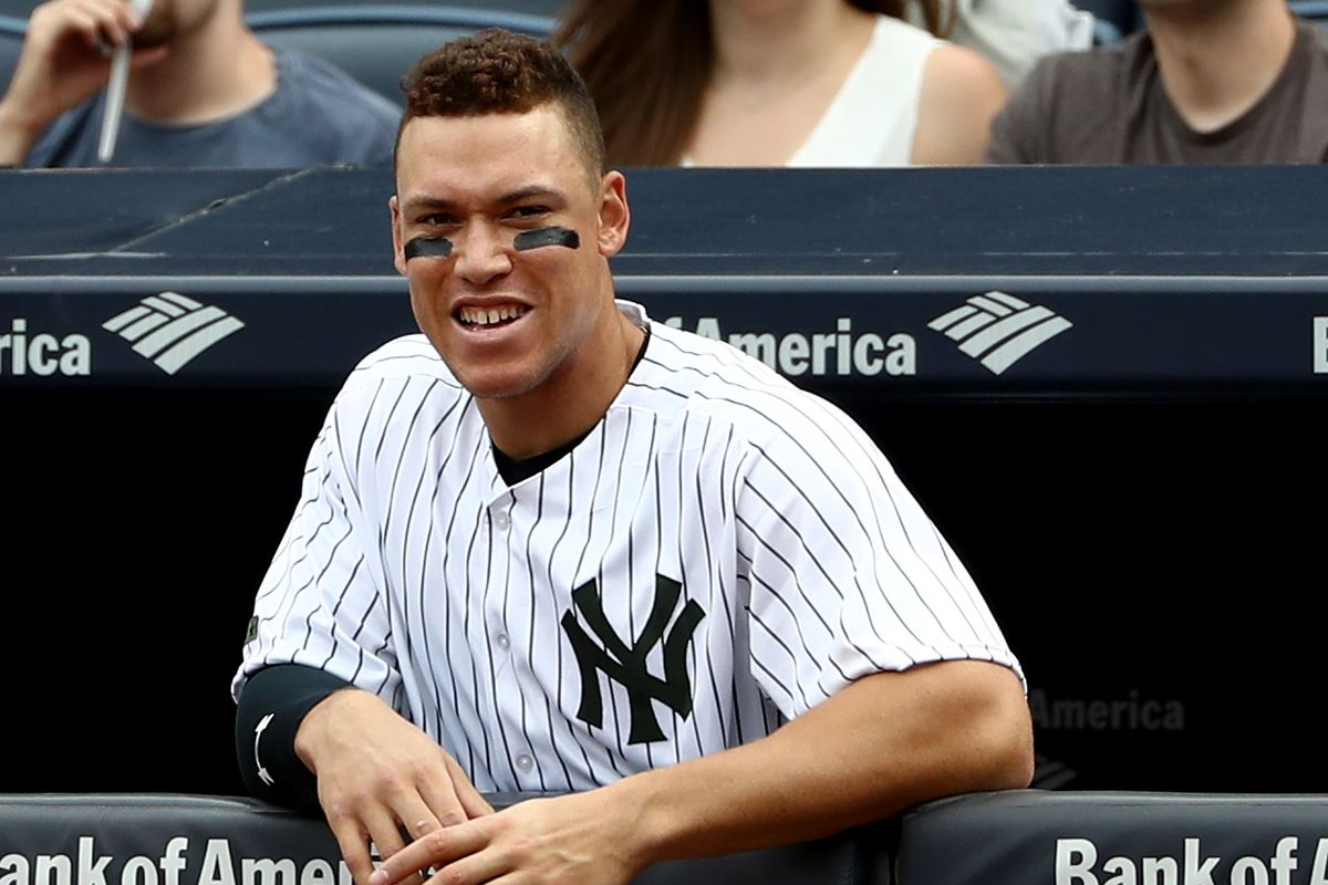 Aaron Judge trails only Trout among AL OFs in All-Star Game votes