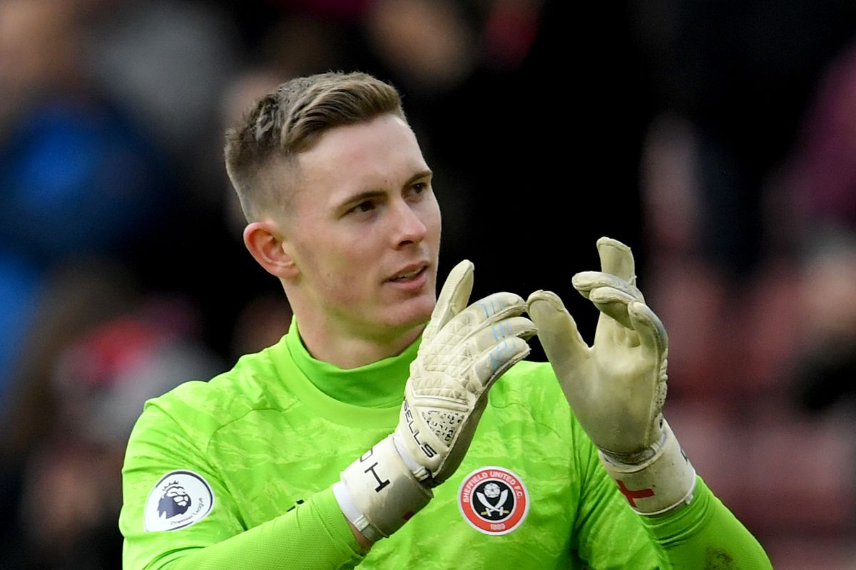 Dean Henderson of Sheffield United after the Premier League match between Sheffield United and Norwich City at Bramall Lane on March 07, 2020 in Sheffield, United Kingdom.