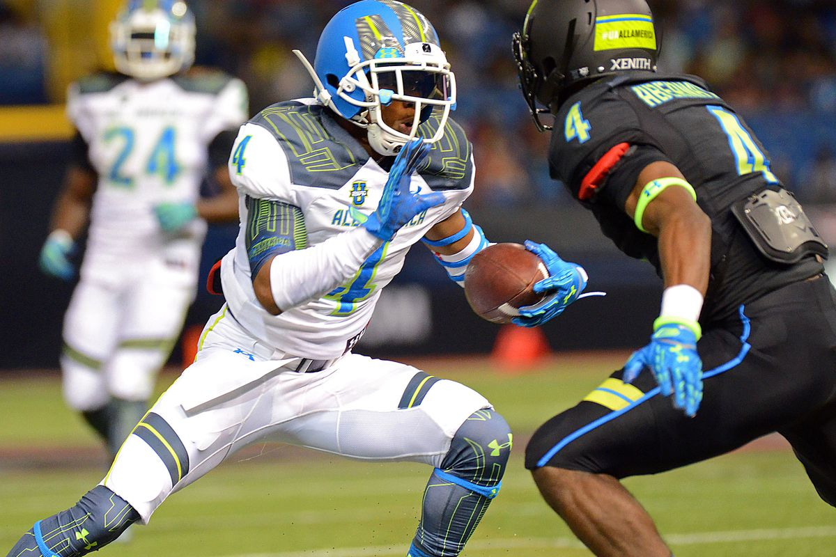 Terry Godwin at the 2015 Under Armour All-America game.