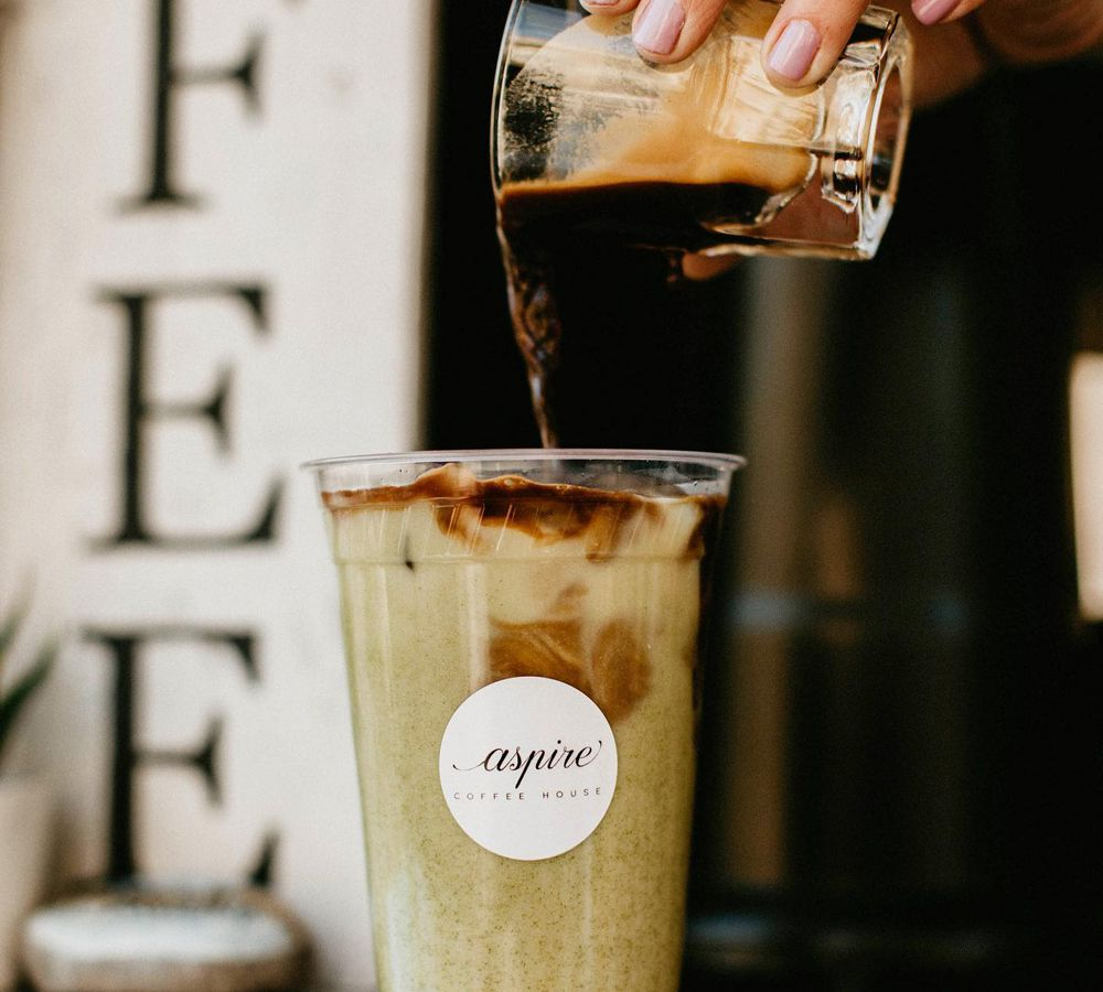 Organic coffee upgraded with a shot of espresso at Aspire Coffee House, coming to Centennial Hills.