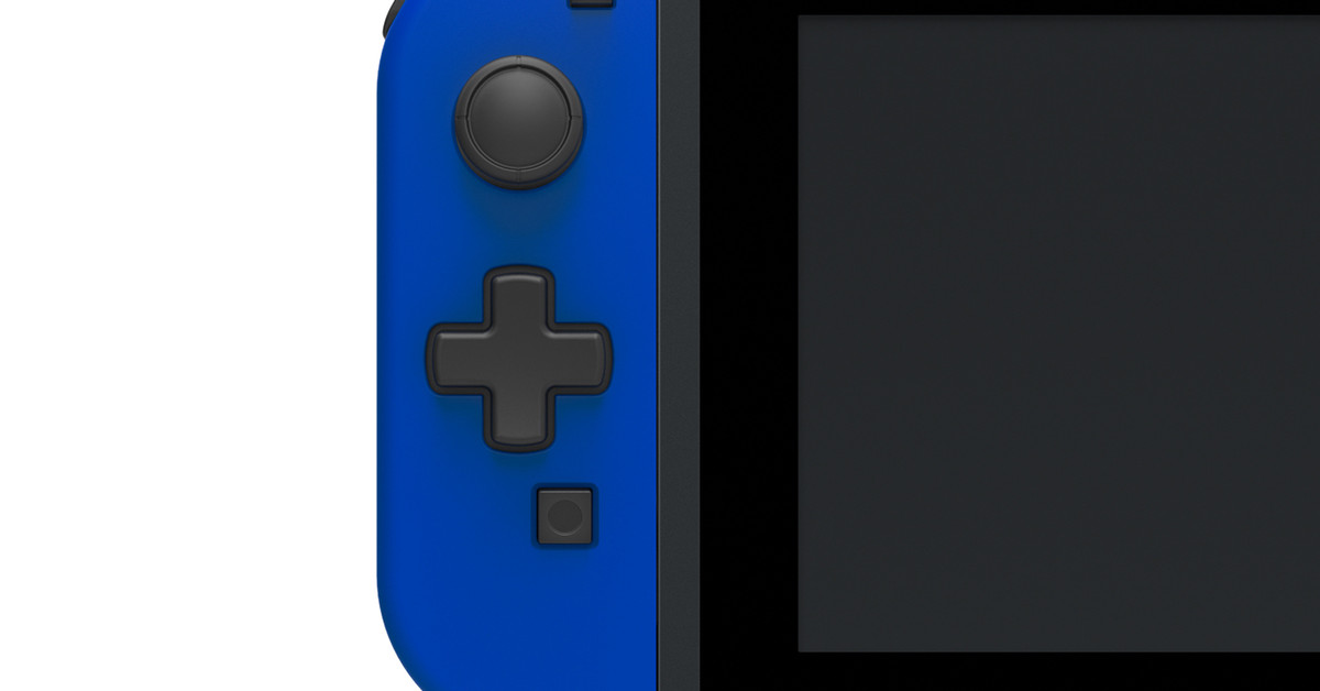 Hori Is Making A Switch Joy Con Controller With Proper D Pad