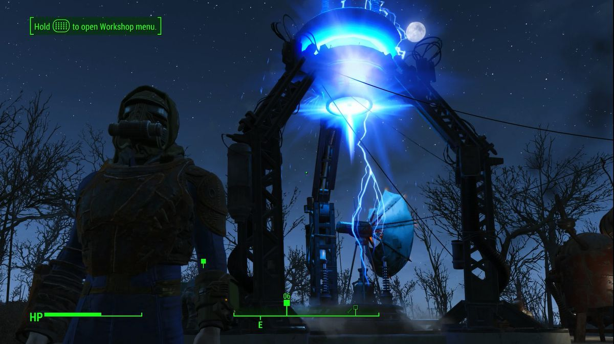 Fallout 4 the molecular level walkthrough polygon note that the beam emitter needs at least two generators since it requires 20 units of power and the most powerful generator you can build can only generate solutioingenieria Choice Image