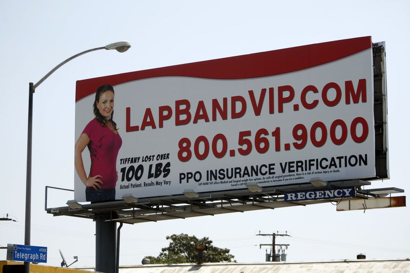 lapbandsurgeryad A lack of insurance is leading more Americans to have weight loss surgery in Mexico