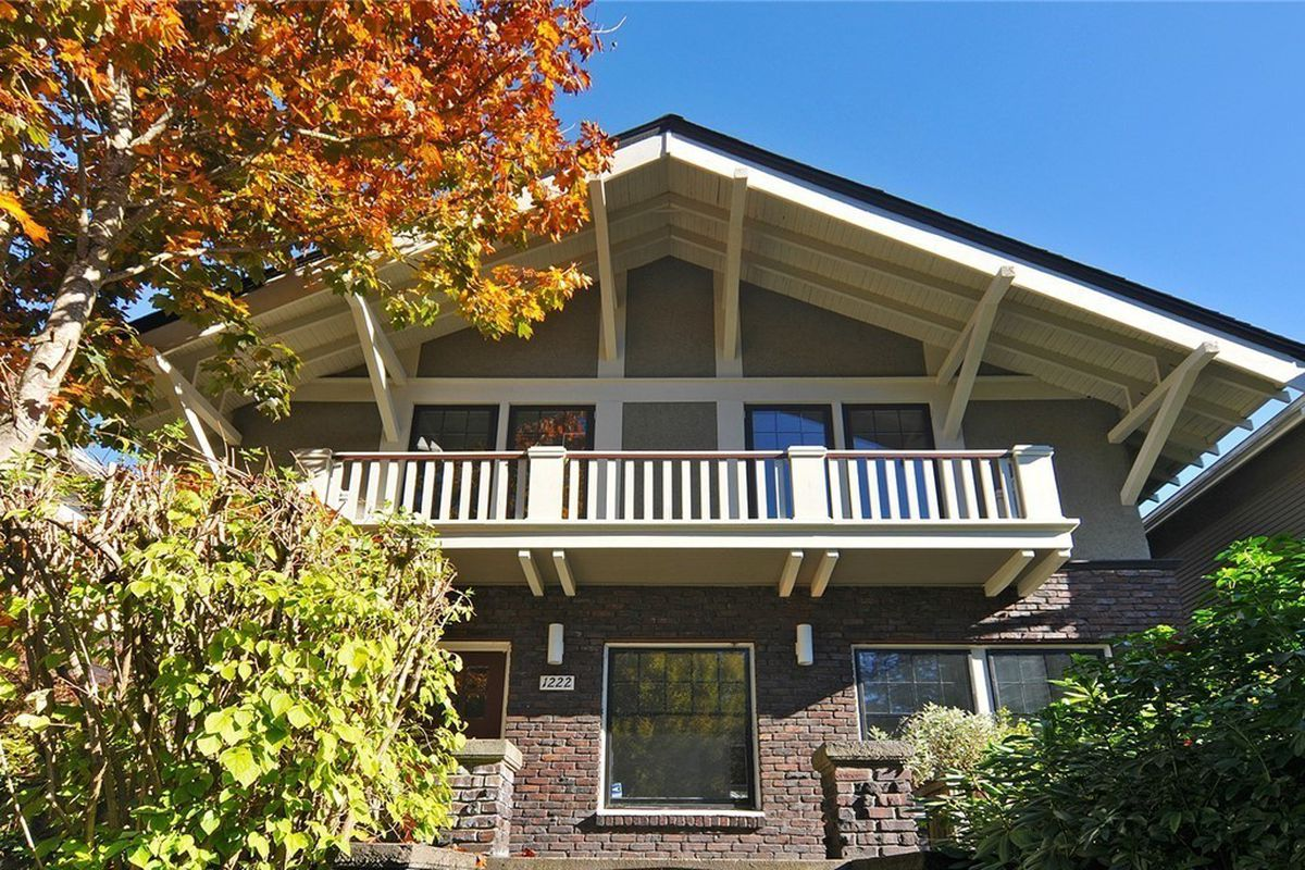 Striped capitol hill craftsman listed for 825k curbed for New craftsman homes for sale