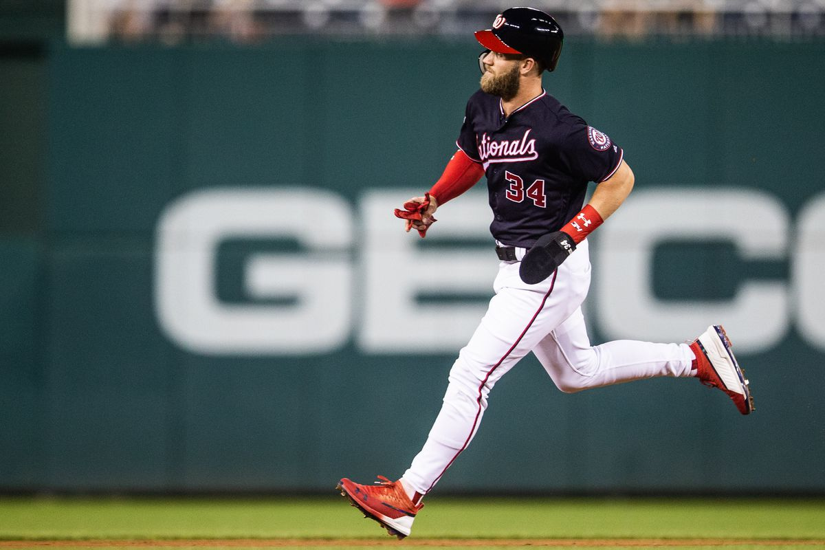 newest a2704 72f54 Washington Nationals and Bryce Harper met again before ...