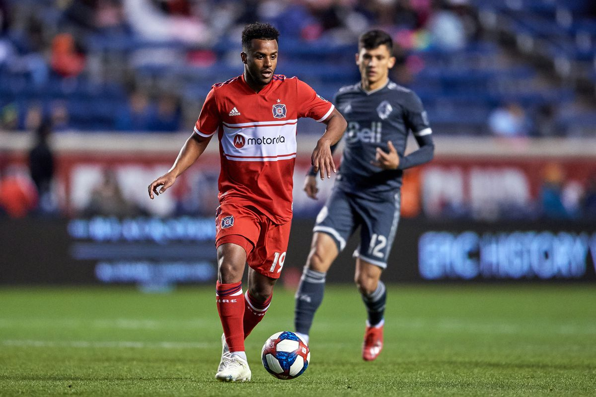 SOCCER: APR 12 MLS - Vancouver Whitecaps at Chicago Fire