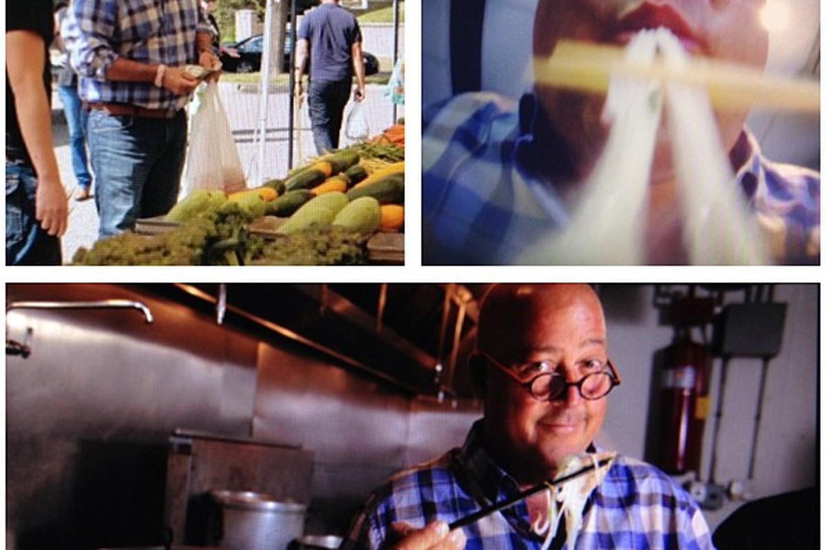 Where Did Andrew Zimmern Eat This Weekend in MPLS - Eater Twin Cities