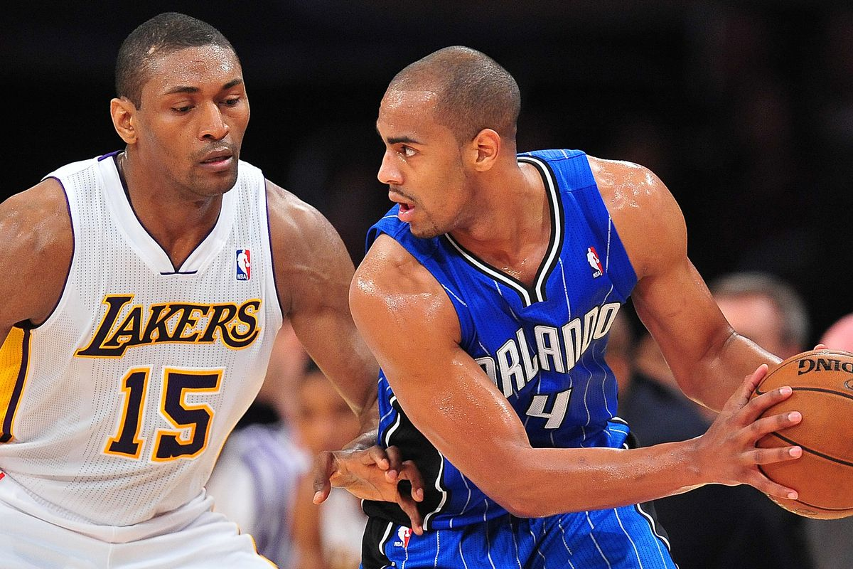 Metta World Peace and Arron Afflalo