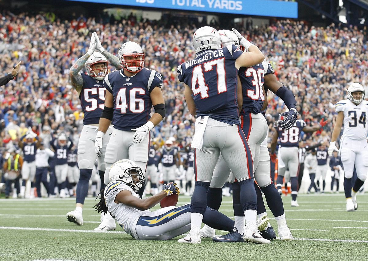 NFL: Los Angeles Chargers at New England Patriots
