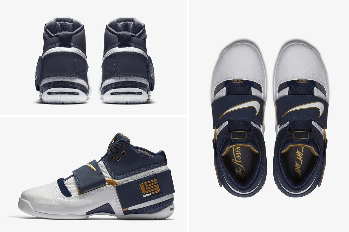 "on sale b21b8 4822a Nike releasing Zoom LeBron Soldier 1 ""25 Straight"" - Fear ..."