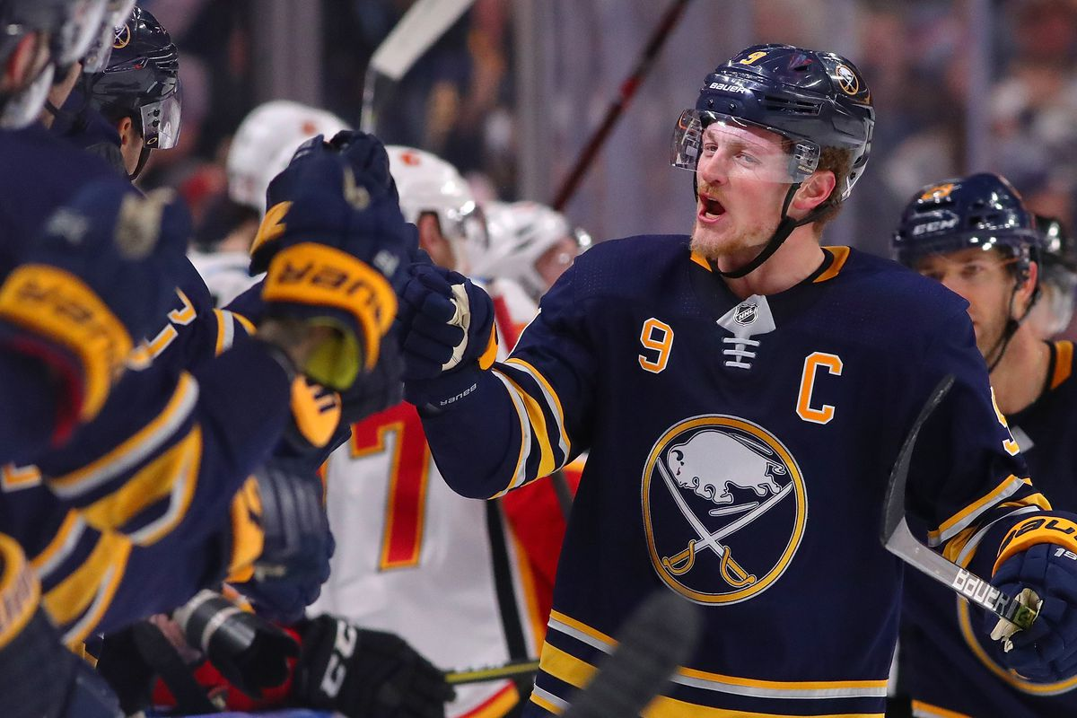 buffalo sabres jack eichel s first 200 career nhl points die by