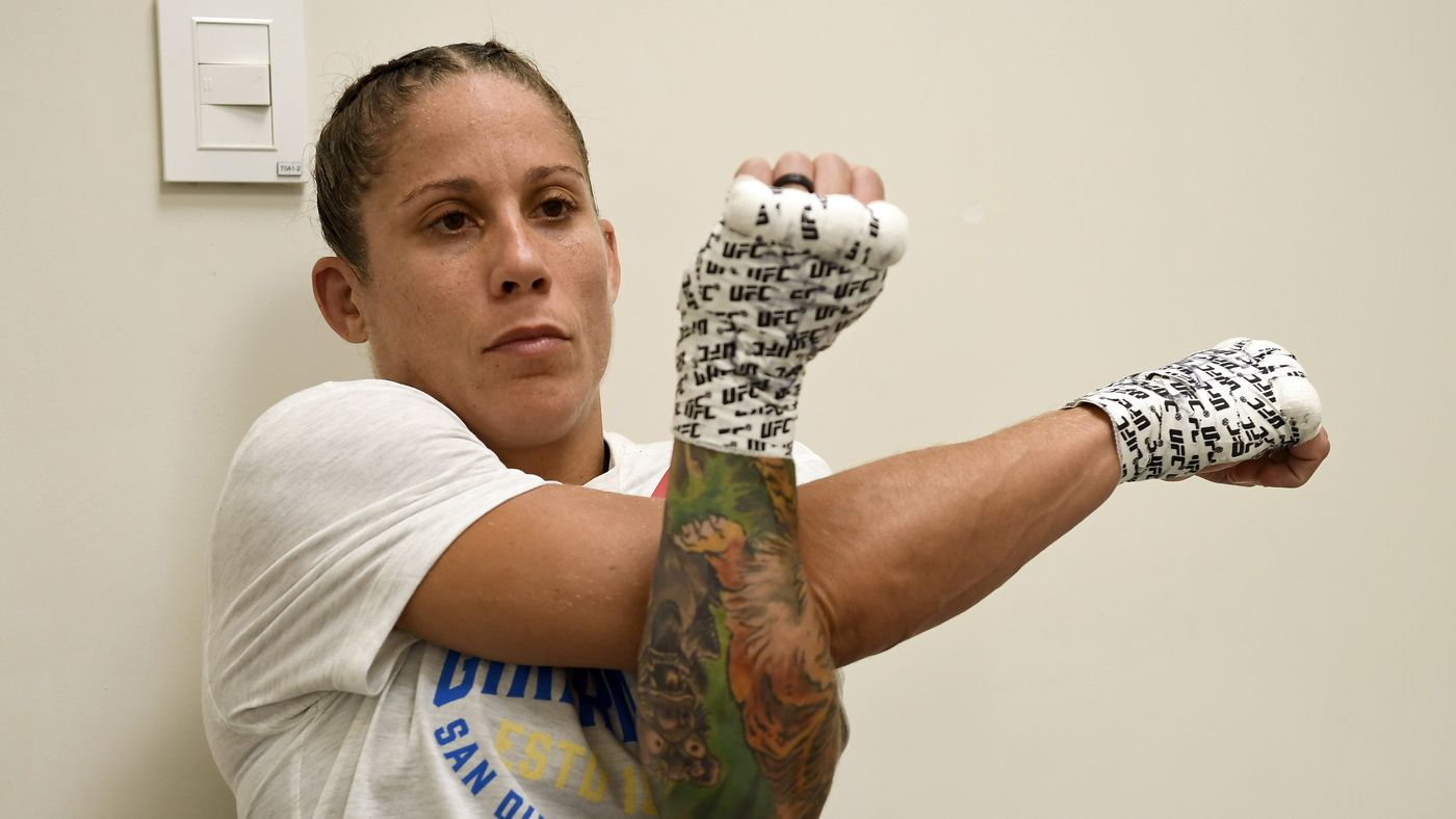 Liz Carmouche cut during tour of children's hospital because UFC couldn't find anyone to fight her