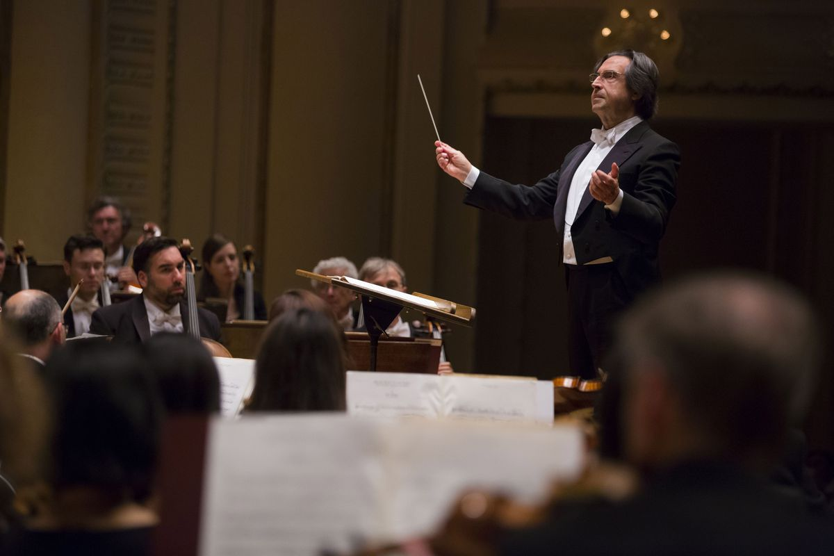 """Riccardo Muti will lead the Chicago Symphony Orchestra in Prokofiev's """"Ivan the Terrible"""" Feb. 23-25.   Todd Rosenberg Photography"""