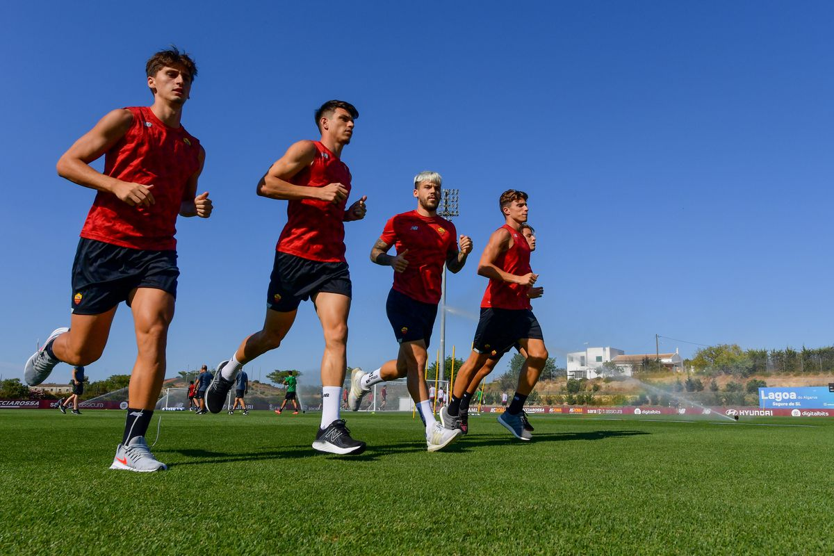 AS Roma Training Session