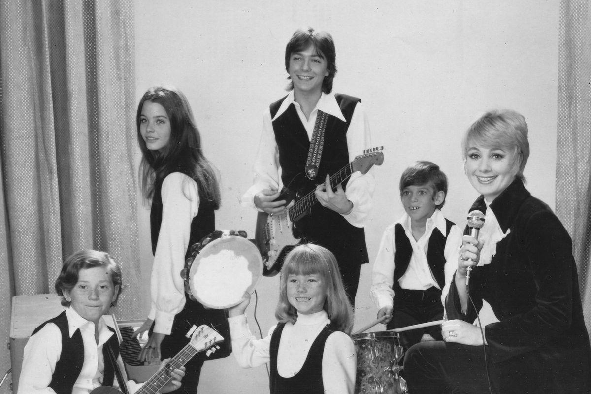 Jack Cassidy Shirley Jones Children