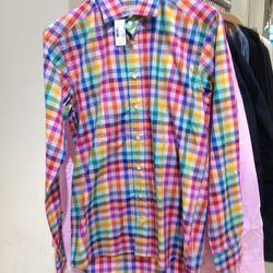 [Men's] Etro oxford shirt, $107