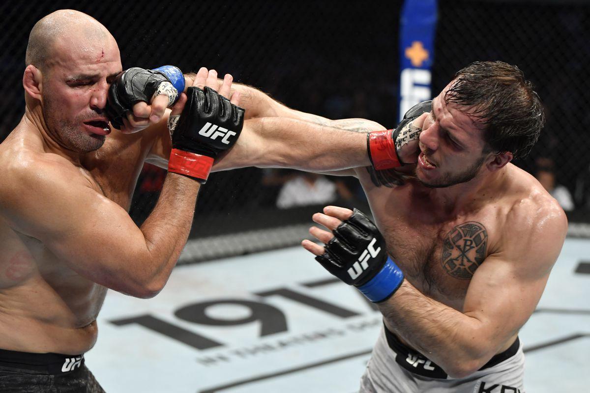 UFC Fight Night: Teixeira v Krylov