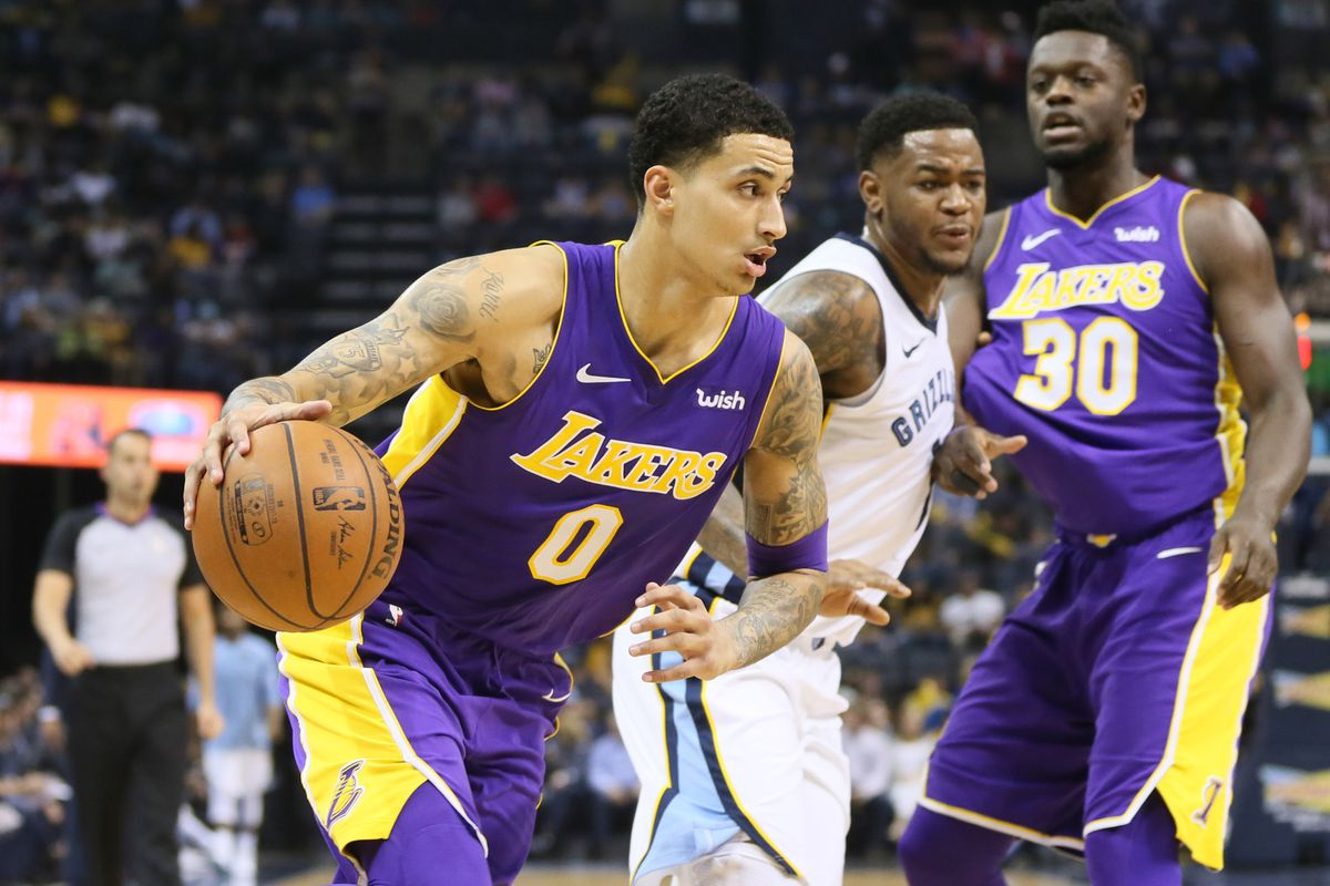 bce10dab684b Lakers vs. Grizzlies Final Score  Kyle Kuzma carries Lakers past ...